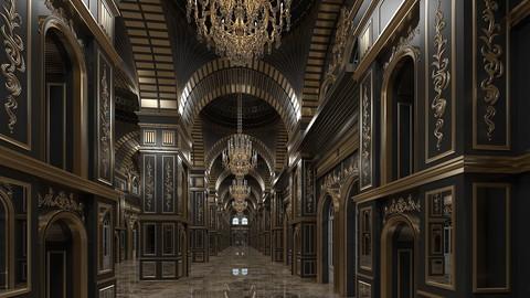 Classic Interior Scene 316