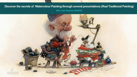 9 HOURS VIDEOS - Real Traditional Painting! by Jean-Baptiste MONGE