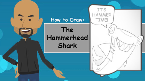 How To Draw The Hammerhead Shark