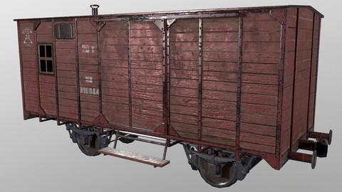 3D model Railcar