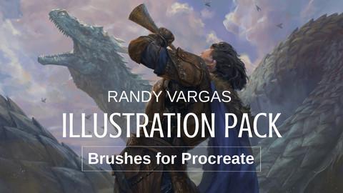 Illustration Pack - Brushes for Procreate