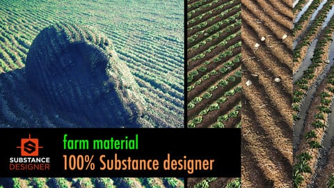 Farm Material - 100% Substance Designer