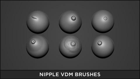 ZBrush Perfect Nipple Brush