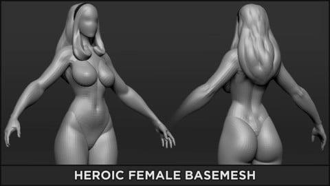 BASEMESH - Heroic Female