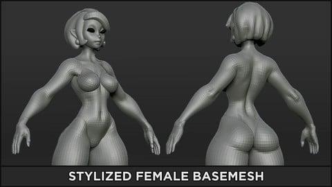 BASEMESH - Stylized Female
