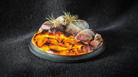 Lava Stones - 3D Printable Digital Sculpture for Tabletop Games