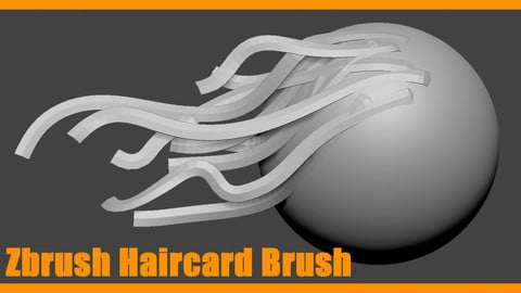 Zbrush Haircard Brush