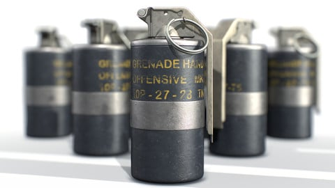 American Frag hand grenade MK3
