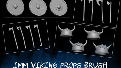IMM Viking Props Brush