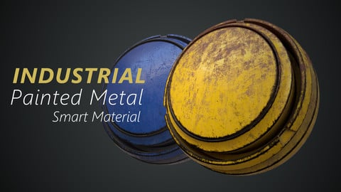 Industrial Painted Metal - Smart Material