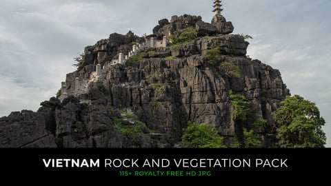 Vietnam - Rock and vegation pack