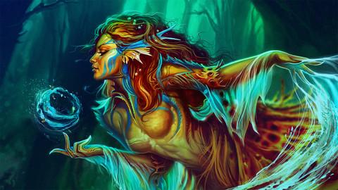 The legend of mermaid