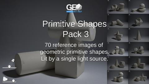 Primitive Shapes Pack 3
