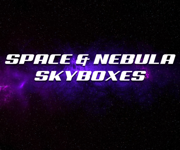 Space & Nebula Skyboxed for Unity 3D engine