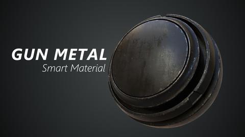 Gun Metal - Smart Material