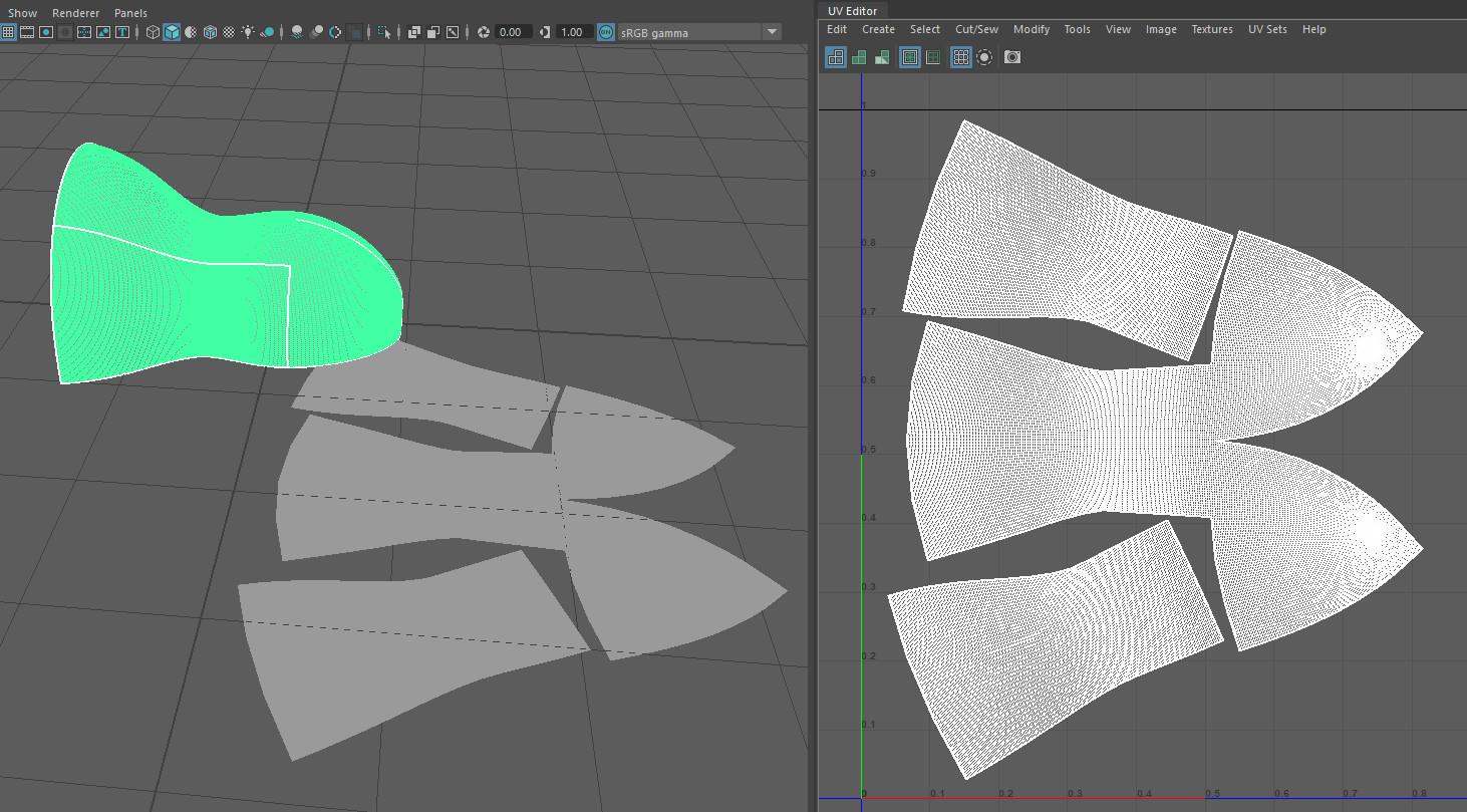 Maya Plugin :: UV Mesh Tool (with free NormalPush Deformer) by Dan Norris