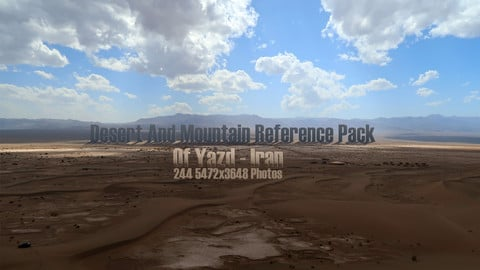 Deserts and Mountains of Persia ( Yazd )