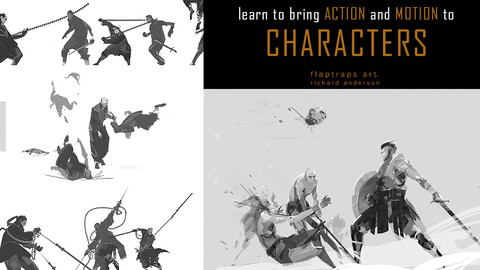 Learn to bring action and motion to your characters