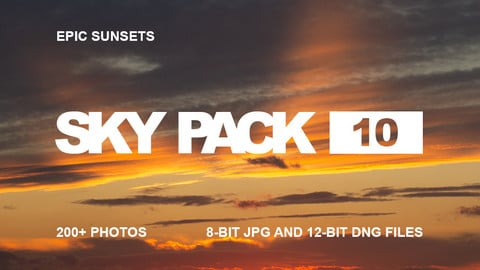 Sky Pack 10 / Epic Sunsets / Clouds reference pack