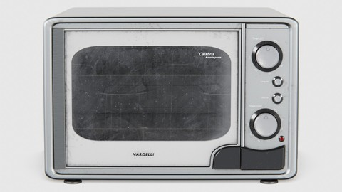 Electric Oven 01 (Clean, Used and Dirty)