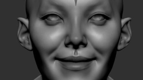 Female Head 02