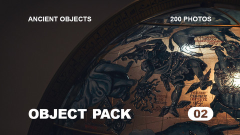 Obj Pack 02 / Ancient Objects / Free reference pack