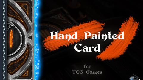 Hand Painted CCG Card Art