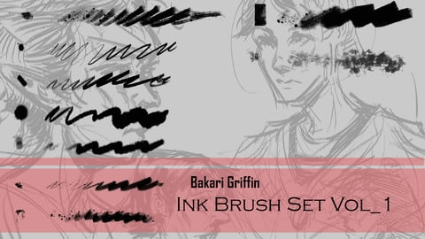 Bakari Griffin - Ink Brush Set Vol_1