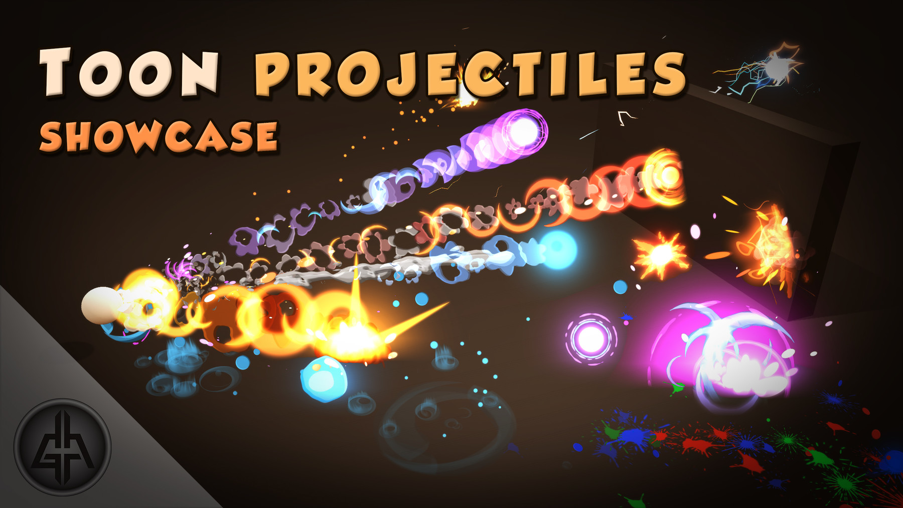 Unique Toon Projectiles Vol 1 by Gabriel Aguiar
