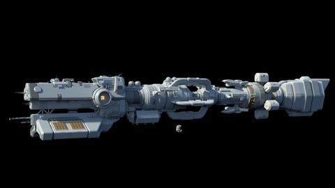 Large Science Vessel space ship