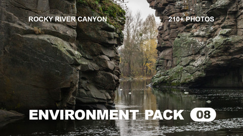 Env Pack 08 / Rocky River Canyon reference pack
