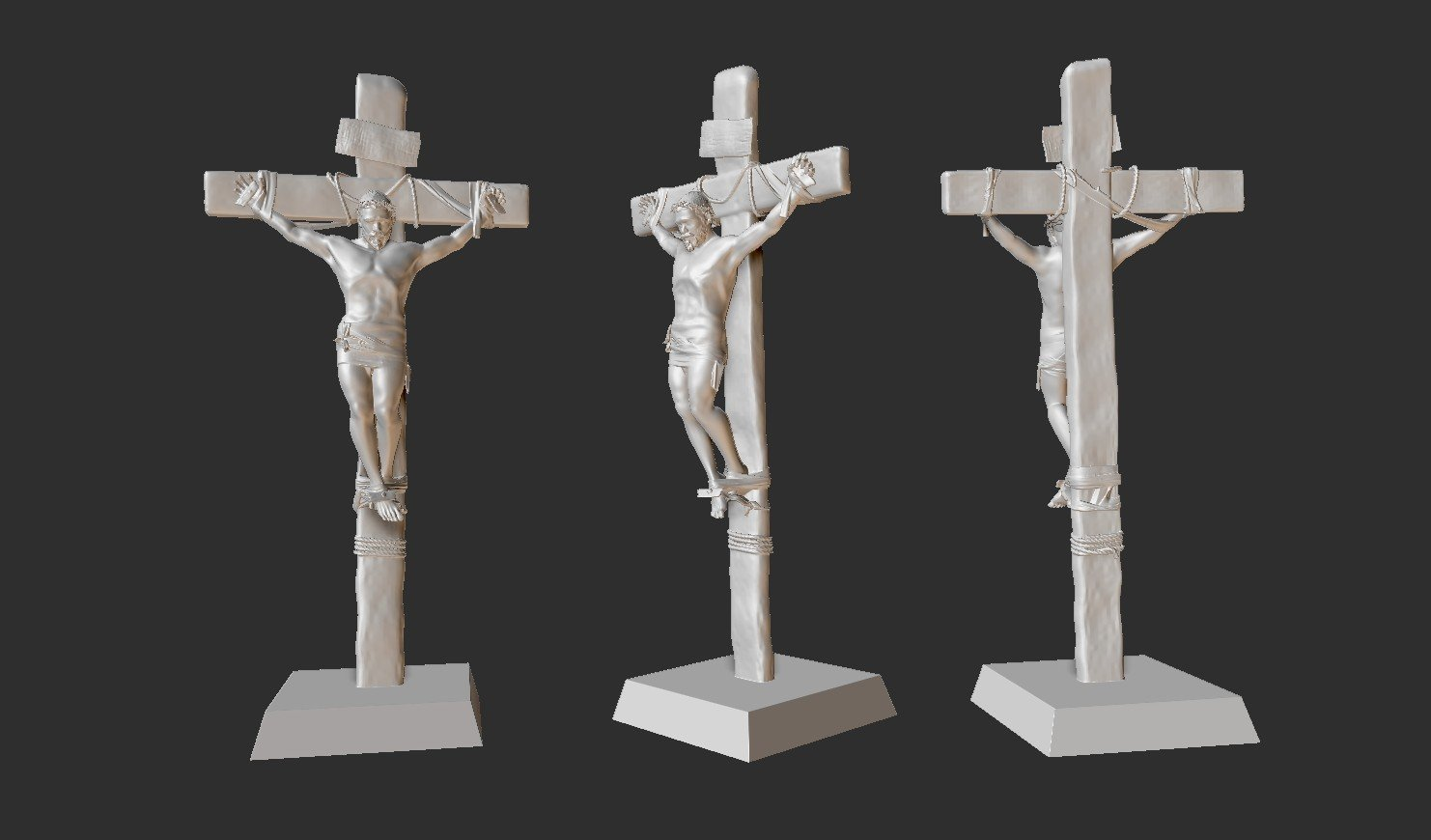 Abenezer Girma - 3D Printing Ready Crucifix