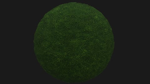 Dark Grass Pbr Texture