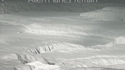 Terrain - 3 Alien Planes Height maps / Models