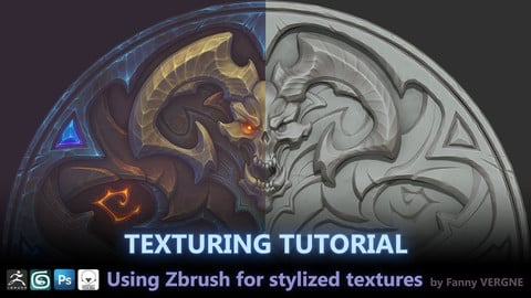 Texturing Tutorial, Using Zbrush for stylized textures