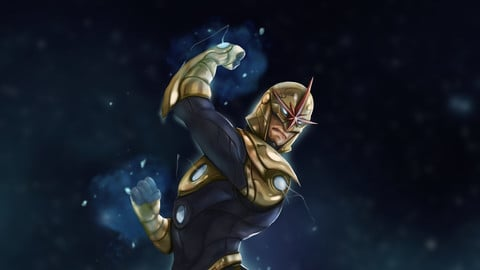 Nova Fan art [PSD File]