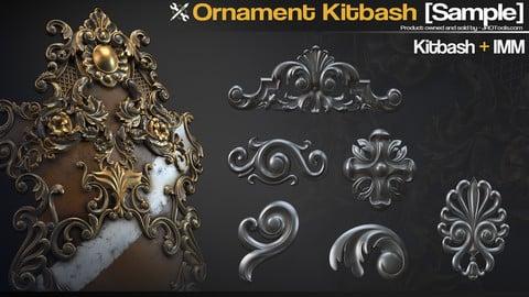 Ornament Kitbash [Sample]