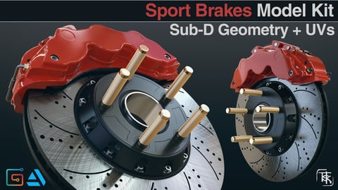Vehicle Disc Brakes Model Kit