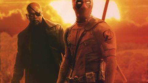 Nick fury and deadpool