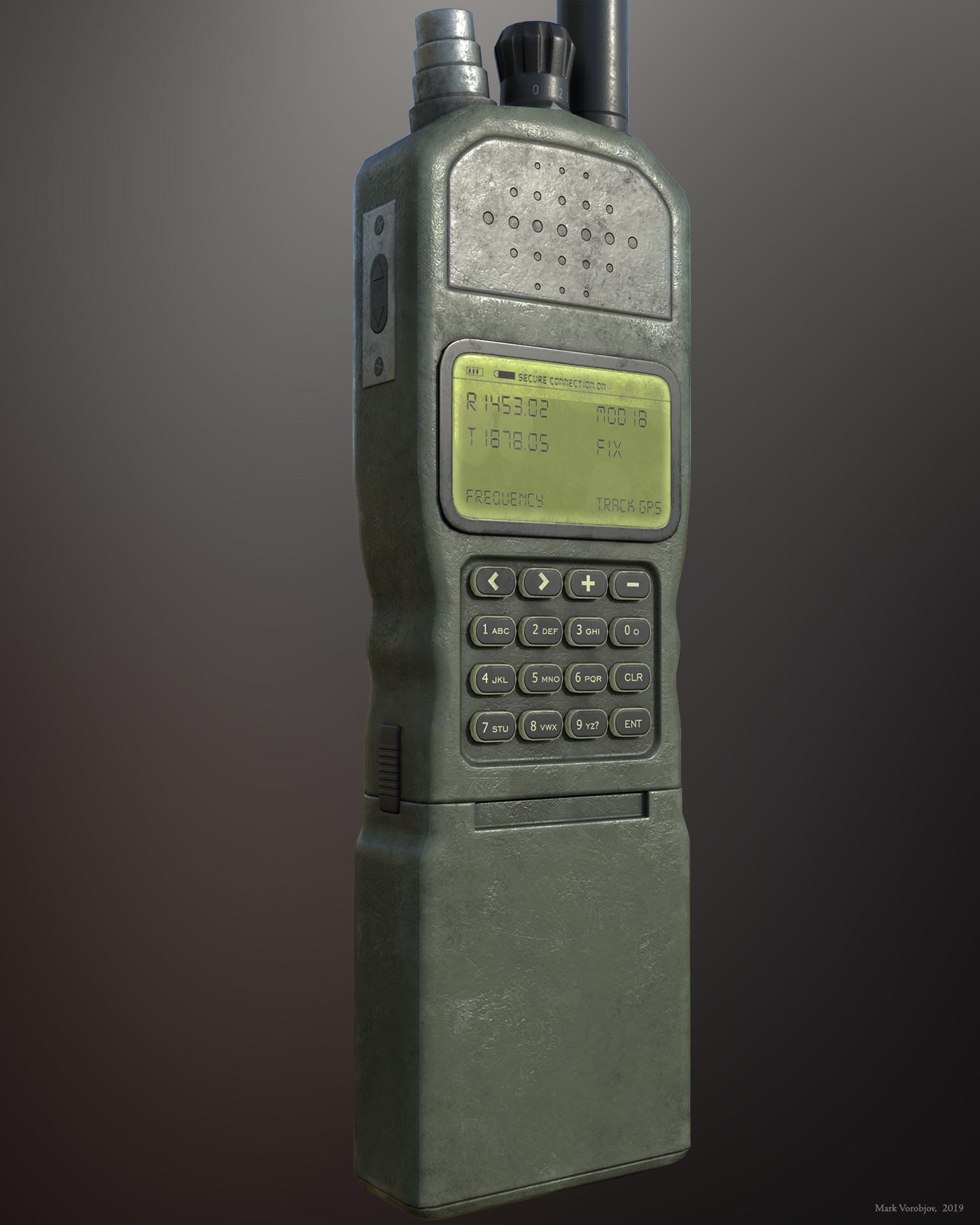 Mark Vorobjov - Military handheld radio