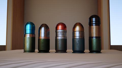 40mm grenades pack