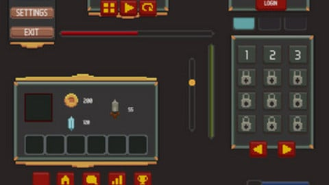 Game UI - Pixel Art