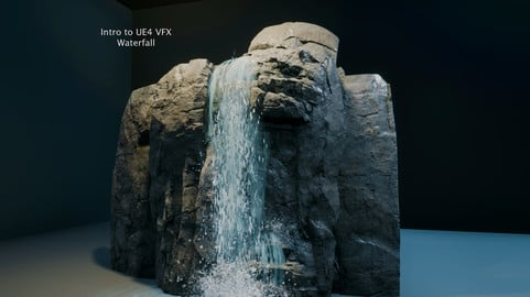 Intro to UE4 VFX: Waterfall