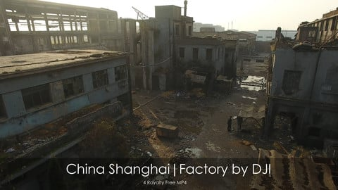China Shanghai|Factory by DJI Drone