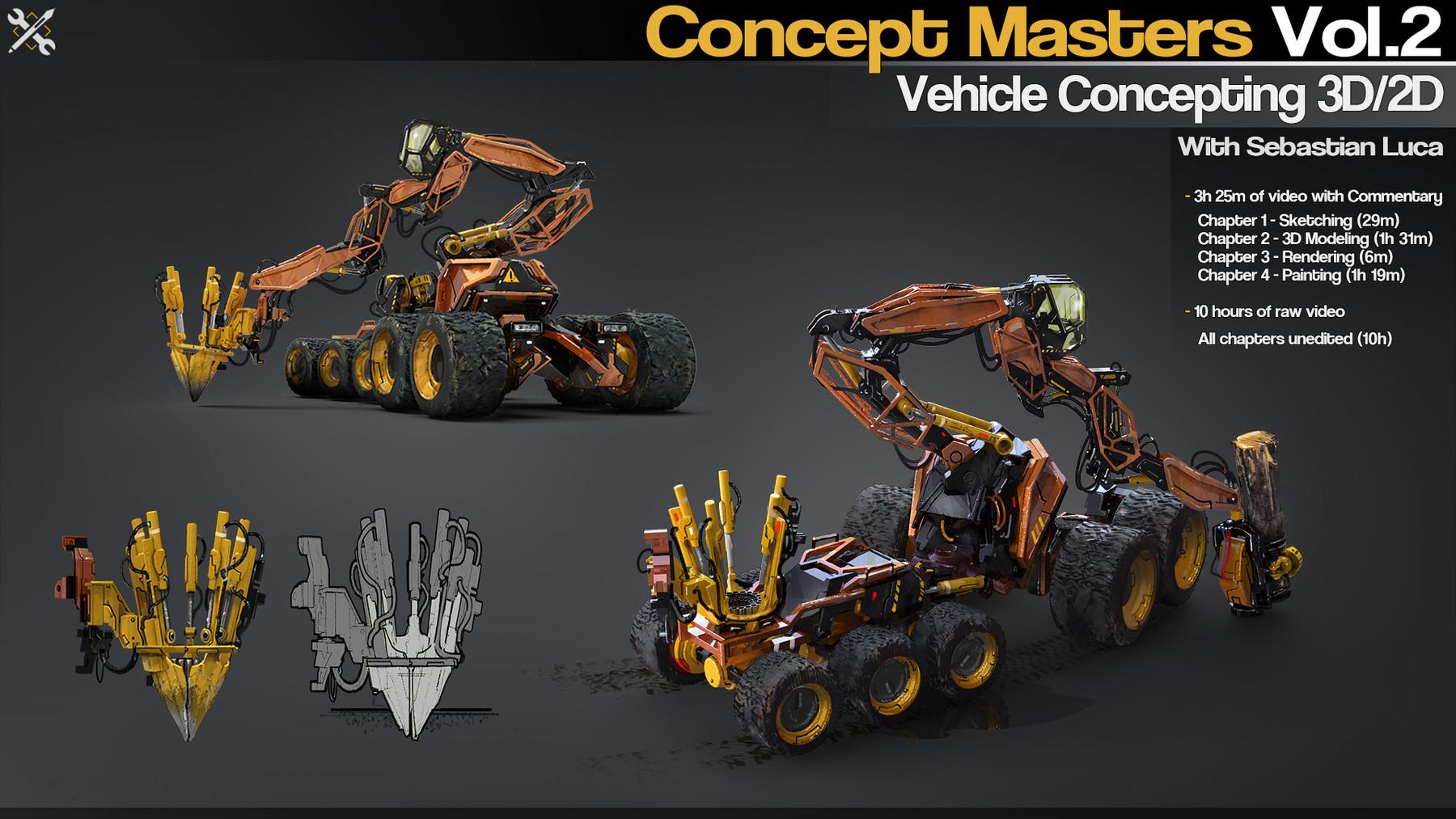 JROTools - Tools for 3D artists - Concept Masters Vol 2