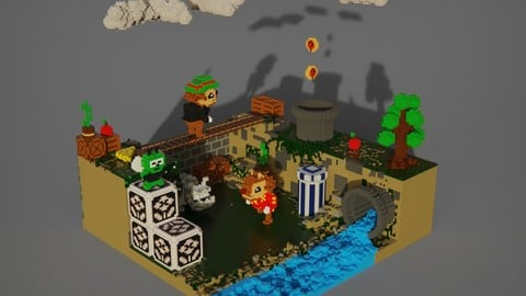 voxel game