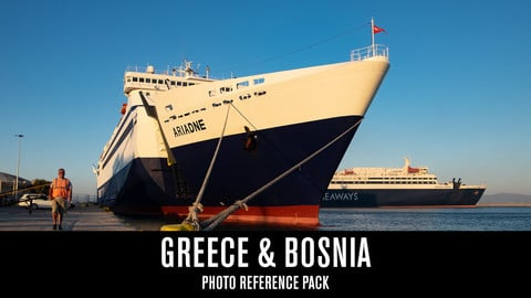 Greece & Bosnia - Photo Reference Pack
