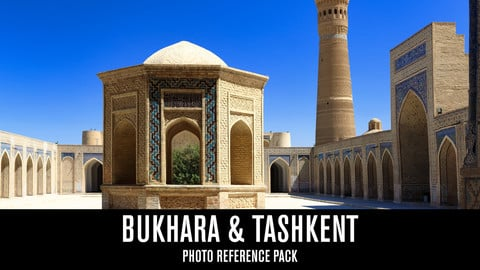 Bukhara & Tashkent - Photo Reference Pack