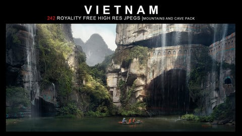 Vietnam: Mountains and Cave Pack