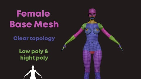 Female Body Basemesh